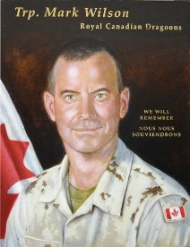 "18"" x 24"" Oil on maple panel (Fallen Canadian Soldier Project)"